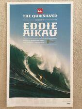 surf,Eddie Aikau,endless Summer VTG 1982 Surfing MAGAZINE poster Hans Hedemann