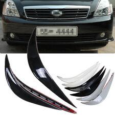 NEW 2pcs Auto Car Front Rear Bumper Corner Guard Crash Protector Lip Sticker