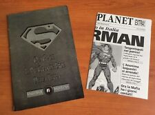 SUPERMAN nr 0  ZERO  1993 + ALLEGATO DAILY PLANET PLAY PRESS RARO LA MORTE DI