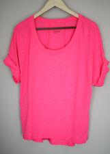 Zella Women's Short Sleeve Pink Workout Tee T-Shirt Size S/P