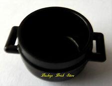 NEW Lego Minifig BLACK CAULDRON Castle Witch HALLOWEEN Potter Dish Kitchen Pot