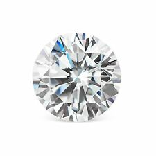 0.80 Carat 5 mm Brilliant Round Cut Loose White Synthetic Moissanite ~