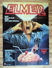 BRAIN DAMAGE 1988 Original movie poster Large Frank Henenlotter Horror RARE