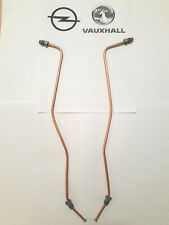 Vauxhall/Opel Corsa D 2007-2011 Rear Axle O/S and N/S Brake Pipe