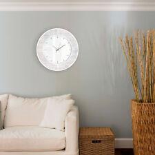 50cm Glitter Sparkle Wall Clock Statement Glass Glam Clock