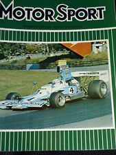 ALFA ROMEO ALFASUD 1973 Test Maurice Gomm profil Mirage Ford P68 F1 LE MANS