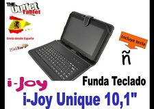 """FUNDA TECLADO TABLET i-joy UNIQUE 10 10.1"""" UNIVERSAL KEYBOARD IJOY  ALCAMPO"""