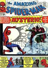 the AMAZING SPIDERMAN # 13 1st MYSTERIO story A4 poster