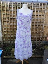 Jacques Vert 16 Pail Purple Dress BNWT Party Cocktail Cruise Mother Of The Bride