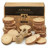 ARTEZA Wood Slices - Set of 45