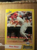YAHOO BASEBALL LEGENDS PETE ROSE 1993  Cincinnati Reds Baseball card collectable