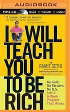 I Will Teach You to Be Rich by Ramit Sethi (2015, MP3 CD, Unabridged)