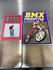 Lot Of Two Vintage Bmx Books Bmx Freestyle Dave Spurdens Hutch Gt Skyway