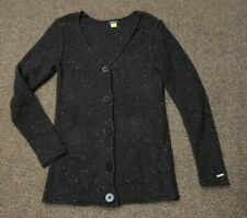 WOMENS small CABELA'S CARDIGAN SWEATER BUTTON FRONT COTTON WARM & COMFY
