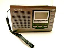 Covvy Radio-SW Shortwave AM FM SW Portable Radio with Instruction Manual