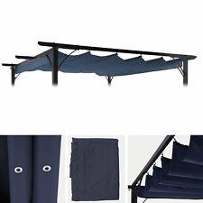 Ersatzbezug 320x250cm für Dach Pergola Pavillon MCW-C42 3x3m, blau