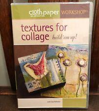 Cloth Paper Scissors Workshop - Textures for Collage - Build 'em Up! DVD