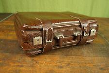 Vintage Koffer Mid Century Tasche Reisetasche Weekender Leder Reisekoffer 60er