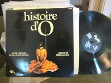 SOUNDTRACK CHRISTIANE MINAZZOLI Histoire d'O BARCLAY pierre bachelet '75 lp FRAN