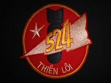 "ARVN Air Force 524th Fighter Squadron ""THIEN LOI"" (Thunder) Vietnam War Patch"