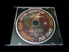Grateful Dead Beyond Description Bonus Disc CD from 1973-89 Box Set 2004 GDP 1CD