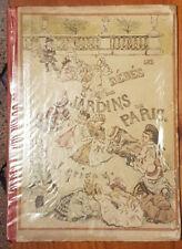 Les bébés des jardins de Paris illustr J. Grigny Texte P. Bonhomme fin XIX TBE