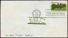 USA 1968 Marquette FDC First Day Cover #C15171