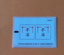 LEGO ® autocollant/sticker pour Nº 2254