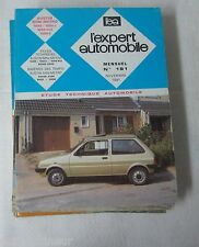 Revue technique EXPERT AUTOMOBILE 181 1981 Austin mini metro 1000 L HLE 1300 S