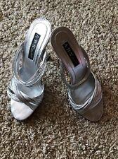ABS Shoes ALLEN SCHWARTZ 7.5M Silver NEW IN BOX Display MSRP $150