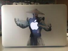"Raiden Vinilo Pegatina Calcomanía Guerrero de combate mortal MacBook Air/11"" Retina 👍"