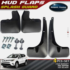 Brand New 4pcs Splash Guard Mud Flaps Mudflaps for Toyota RAV4 RAV-4 2016-2017