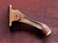 antique vintage Glynn Johnson cast iron rubber tipped door stop