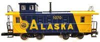 Z Scale Marklin Mini-Club 8686 Alaska Caboose ARR 1070 (No Box)