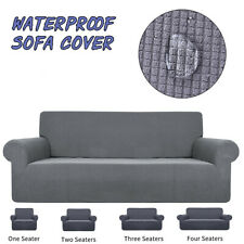Waterproof Sofa Cover Universal Elastic Couch Slipcover Furniture Protector Wrap