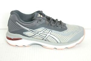 Asics Women's GT-2000 6 Running Shoes  US 6 Grey/Silver/Carbon