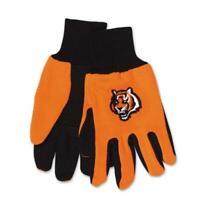 Cincinatti Bengals Handschuhe ,Gloves,gesticktes Logo,NFL Football,NEU !