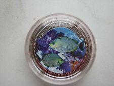 Palau  $1  silver 2011  km 452   25.0000g  proof  rabbit fish