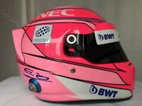 ESTEBAN OCON 2018 F1 REPLICA HELMET FULL SIZE HELM CASQUE CASCO