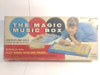 Aristokratt The Magic Music Box & Xylophone 1950's Board Game #800 gm704
