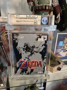 Legend of Zelda Ocarina of Time 1st Release Nintendo 64 N64 Sealed Game Wata 9.2