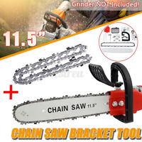 11.5'' Electric Chainsaw Stand Adaptor Bracket Changed Wood Cut Grinder Chains