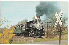 No. 60 Black River & Western Railroad Flemington Ringoes New Jersey Postcard Nj