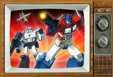 "The Transformers Fridge MAGNET 2"" x 3"" art SATURDAY MORNING CARTOONS"