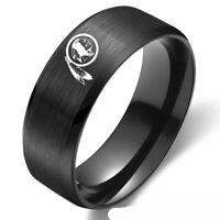 Washington Redskins Football Team Stainless Steel Band RingGifts Size 6-13