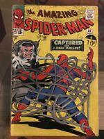 Marvel - Amazing Spiderman #25 G/VG 1st brief Mary Jane - Steve Ditko June 1965