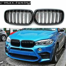 Piano Black Grill for BMW X5 F15 X5M Grille Front Hood Kidney Hood Mesh 2014 +