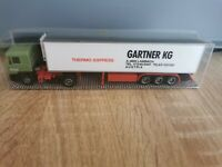 (M4) Albedo LKW H0 1:87 MAN Gartner KG Thermo Express OVP