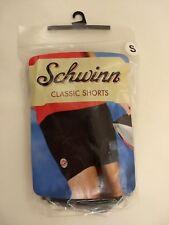 Womens SMALL Schwinn Classic Bike Shorts Black Padded Cycling Spandex Polyester