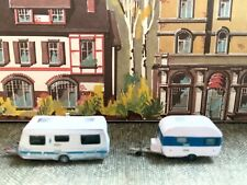 Suitable Marklin spur z scale/gauge. 2 Medium Touring Caravans.